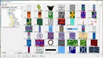 DesignaKnit 8 Tutorial    Muster suchen und sortieren!