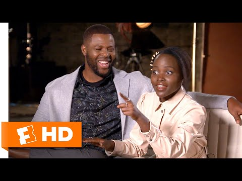 Lupita Nyong'o & Winston Duke Compare Jordan Peele & Ryan Coogler's Directing Styles   Us Interview