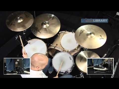 John Bonham (Led Zeppelin) Drum Lessons With Pete Riley - Drum Legends DVD From Sticklibrary.com