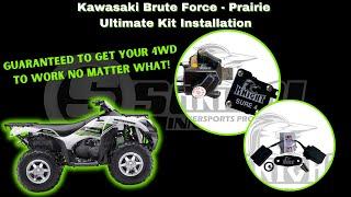 Керівництво і 4WD, впевненим, 4, кінцевої установки на грубу силу