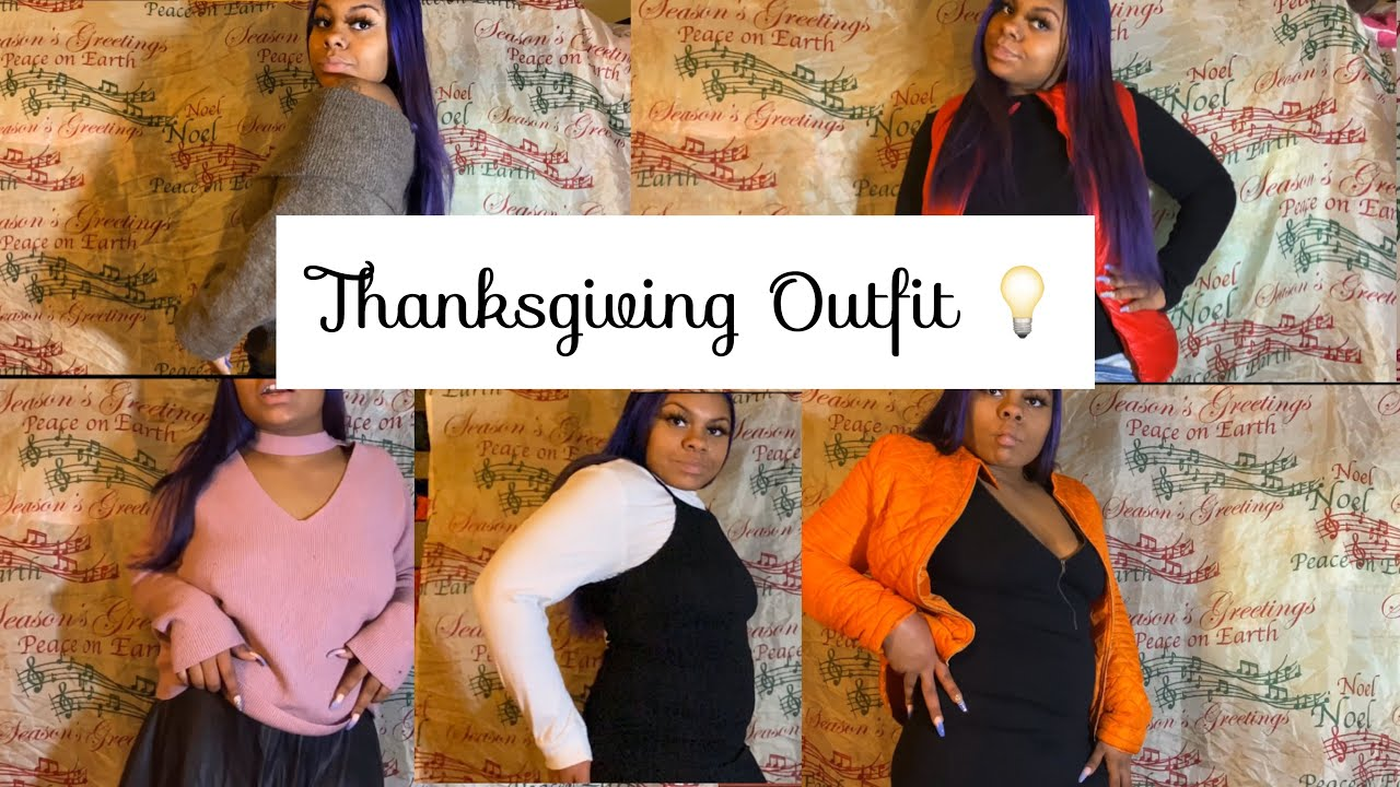 [VIDEO] - 5 Thanksgiving/Fall Outfit Ideas 2019 | Casual - Dressy looks 💡 1