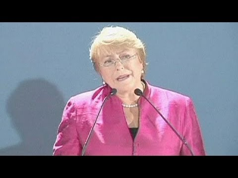 Bachelet in bid for second term as Chile president