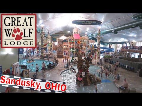 GREAT WOLF LODGE At Sandusky, OHIO || Room Tour, WaterPark Fun & More!