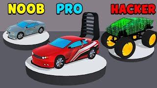 NOOB vs PRO vs HACKER - OH MY CAR!