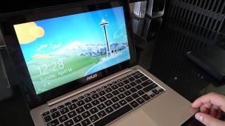 видео Ноутбук Asus VivoBook S200E (Intel i3-3217U 1800МГц / 4096МБ / 500ГБ / Intel GMA HD 4000 / розовый) 90NFQT444W14225813AU