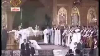 د0حنين عبدالمسيح وسجود الاقباط للبابا شنوده