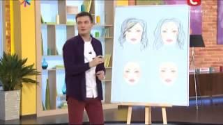 видео стрижки для овальной формы лица