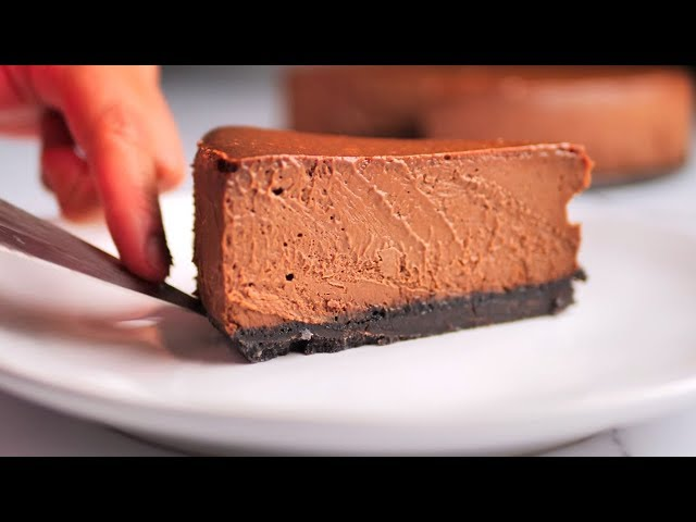 The Ultimate Chocolate Cheesecake