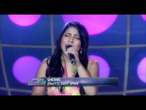 Posso Clamar - Griela Rocha - Eyshila no Programa Raul Gil - ...