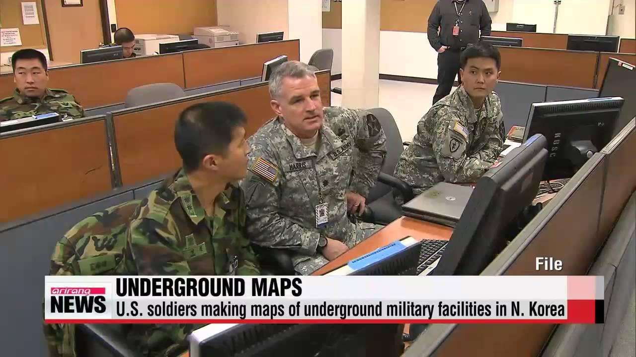 U S Army Making Maps Of Underground Bunkers In N Korea