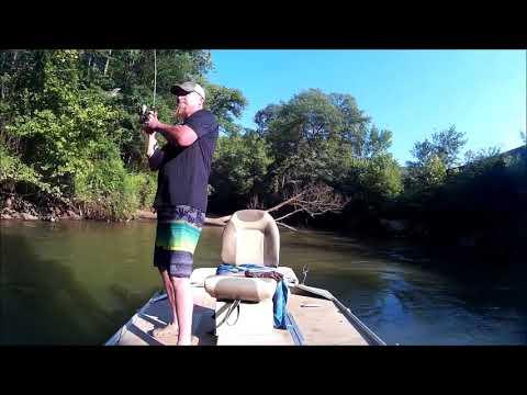 Georgia Small River Fishing 2017