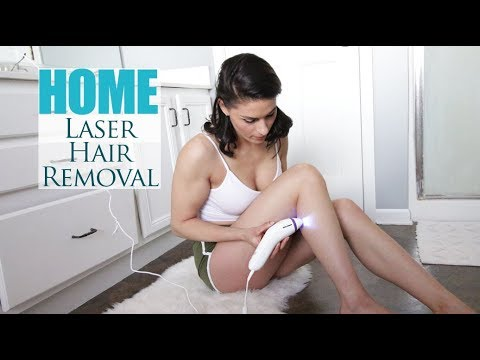 Home Hair Laser Removal Review & Demo