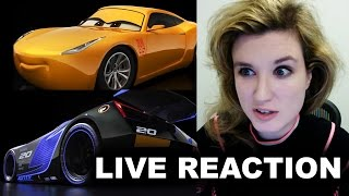 Cars 3 Trailer Reaction - Cruz Ramirez, Jackson Storm FIRST LOOK