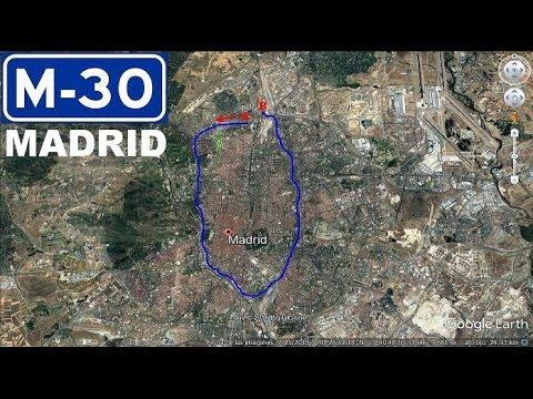 1# Madrid , M-30 Alrededor de Madrid / Around Madrid city , M-30 Ring Road.