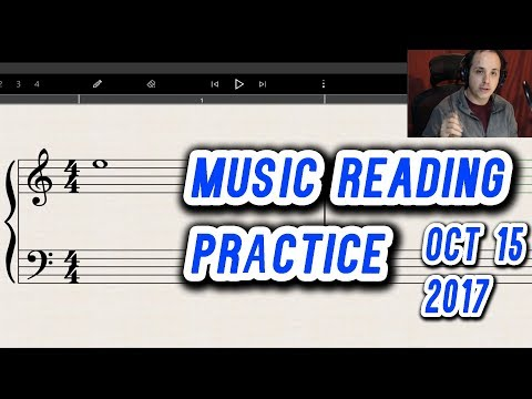 Music Reading Practice Session for Both Clefs and Ledger Lines