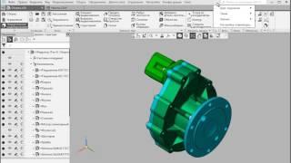 КОМПАС-3D: Интерфейс