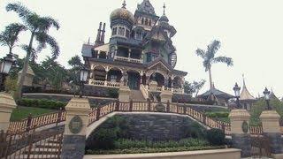 Exploring the New Mystic Manor Behind The Scenes at Hong Kong Disneyland - Imagineering