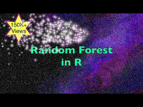 Random Forest in R - Classification and Prediction Example with Definition & Steps