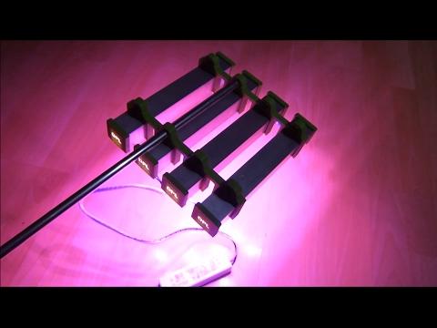 profi led pflanzenlampen im test grow light test 3. Black Bedroom Furniture Sets. Home Design Ideas