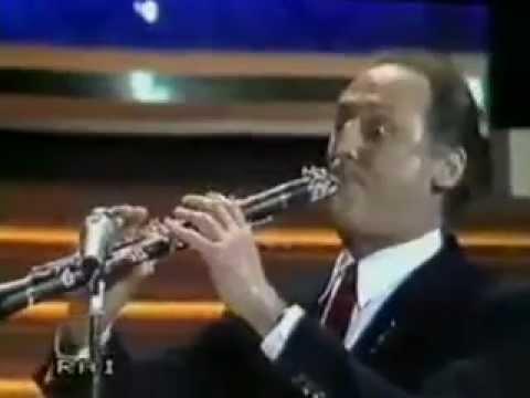 Renzo Arbore - Il clarinetto - Sanremo 1986