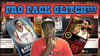 DOES THE PRO PACK GLITCH ACTUALLY WORK IN NBA LIVE MOBILE???