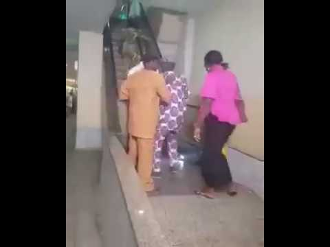 Funny: See What happened at Cocoa Mall in Ibadan, Nigeria