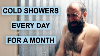 I Took Cold Showers Every Day for a Month, Here's What Happened