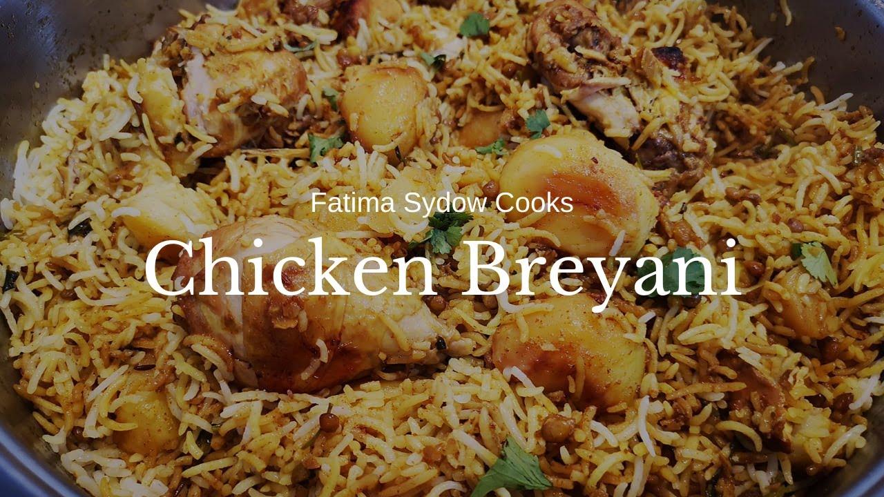 FATIMA SYDOW'S CHICKEN BREYANI