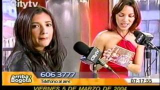 Angela Maria Forero, Entrevista City TV
