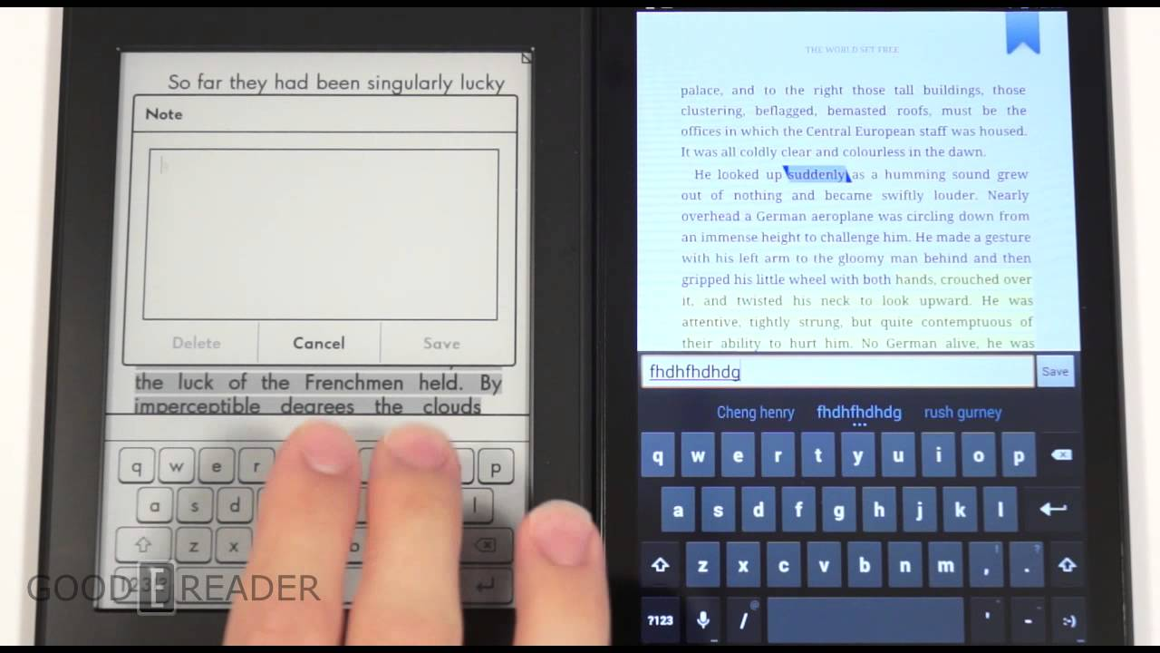 ebook v kindle