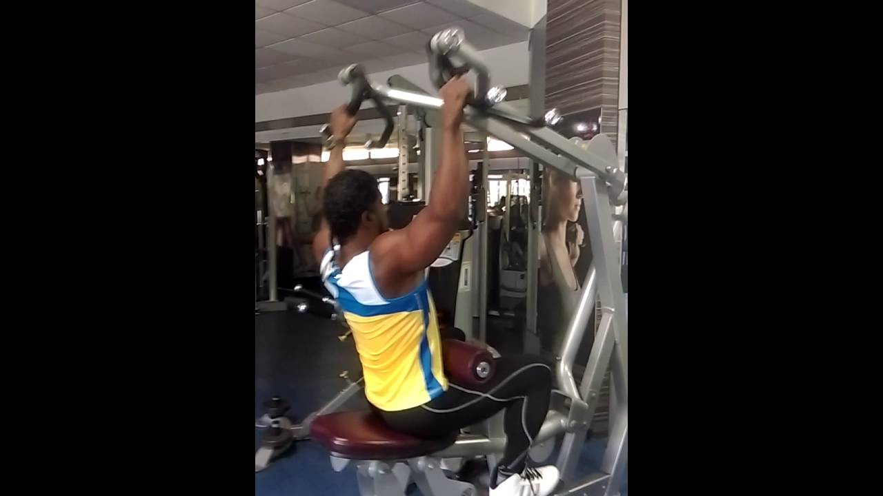 Back )Lat Pulldown Exercise: Proper Form & Technique - YouTube