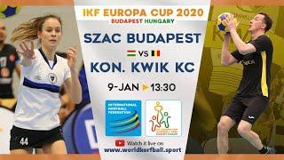 IKF ECup 2020 1908 SZAC KSE - Kon. Kwik KC