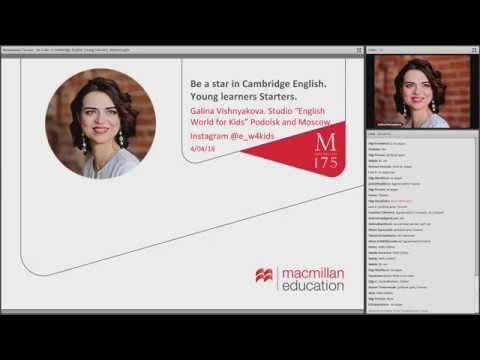 4.04.2018 - Be a star in Cambridge English: Young Learners S