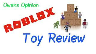 roblox series 2 mystery box toy review