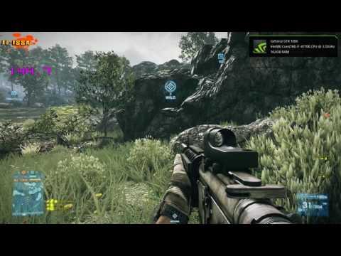 Geforce GTX 1080 Benchmark (Battlefield 3) 1920x1080 Resolution