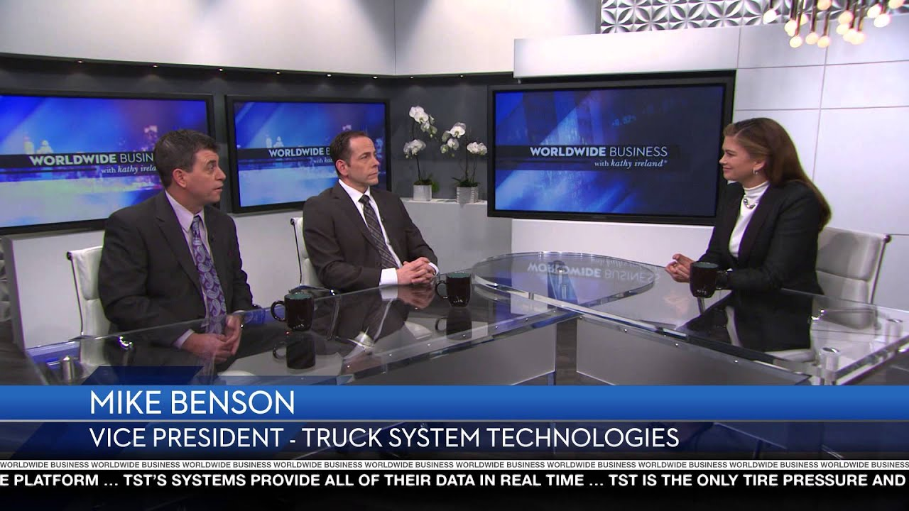 TST's CEO and VP appear on Worldwide Business with Kathy Ireland