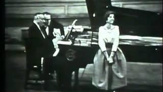 Denise Duval & Francis Poulenc 1959