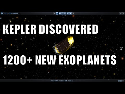 Kepler's Discovery of 1284 New Exoplanets - May 2016