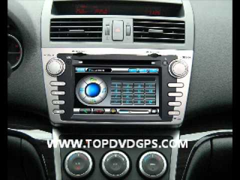 mazda 6 navigation car dvd gps navi radio auto canbus pip. Black Bedroom Furniture Sets. Home Design Ideas