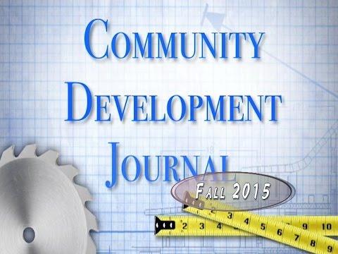 COmmunity Development Journal Fall 2015 (Fridley MN)
