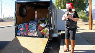 Arizona American Legion Riders deliver Christmas to veterans