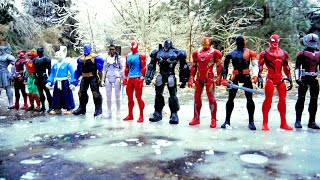 75 SUPERHEROES! Spider-Man, Hulk, Marvel Avengers, DC Justice League, TMNT, Star Wars, Power Rangers
