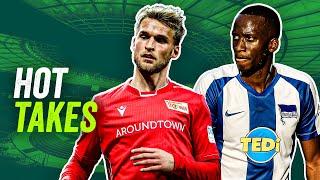 Hot Takes: Union vs Hertha im DFB-Pokalfinale? Burgstaller besser als Haaland?