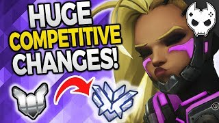 Overwatch - HUGE SEASON 6 CHANGES - Competitive Ladder Updates!