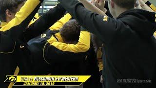 Iowa Swimming & Diving vs Wisconsin and Northwestern