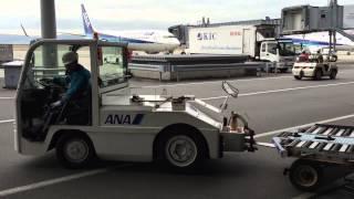 SAS サンヨー航空サービス(株) 関西空港 グランドハンドリング風景