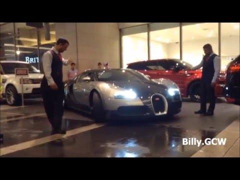 Bugatti Veyron 16.4 leaving Pavilion KL , Malaysia