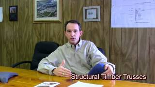 Structural Timber Trusses, American Pole And Timber
