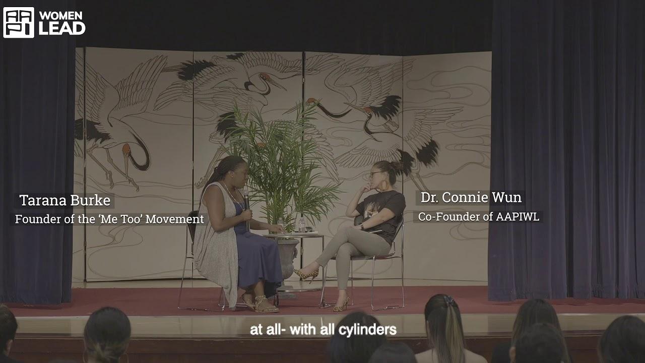 AAPI Women Lead & Tarana Burke discuss Solidarity Work