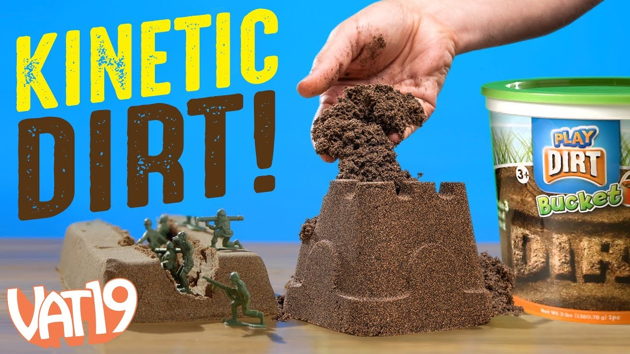 Download Kinetic Soil: Fake Dirt You Can Play With Indoors!